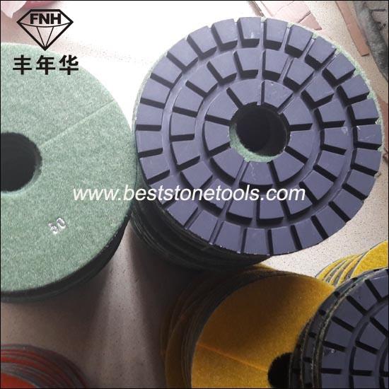 "Cr-25 Diamond Floor Polishing Pad (8""/200mm)"