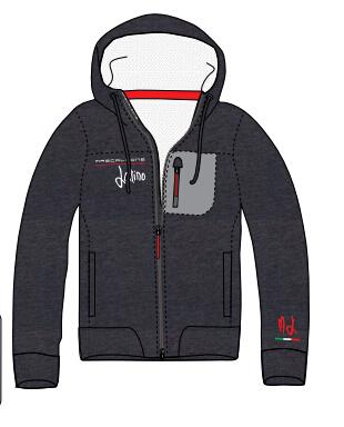 Men′s Winter Warm Hooded Jacket Fleece Jacket