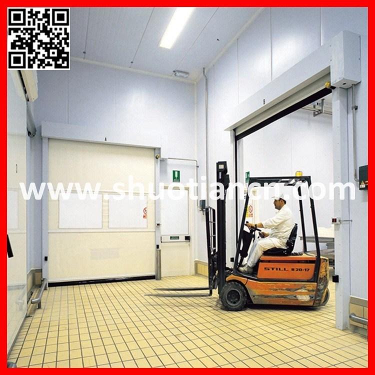 PVC Roll up High Speed Industrial Shutter Door (ST-001)