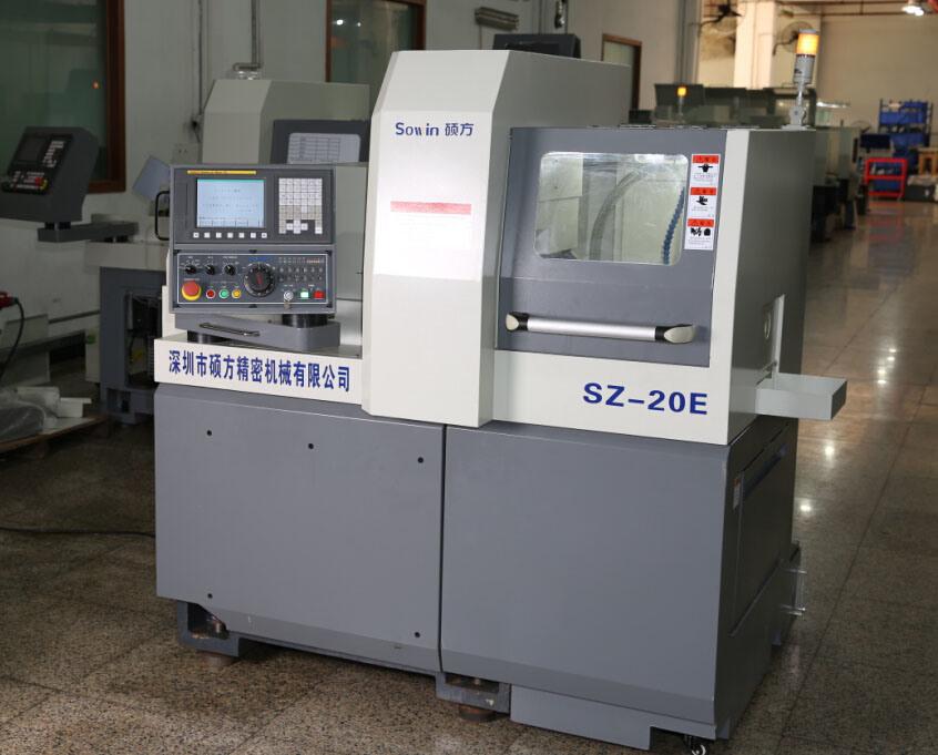 Swiss Type CNC Vertical Cutting Machine