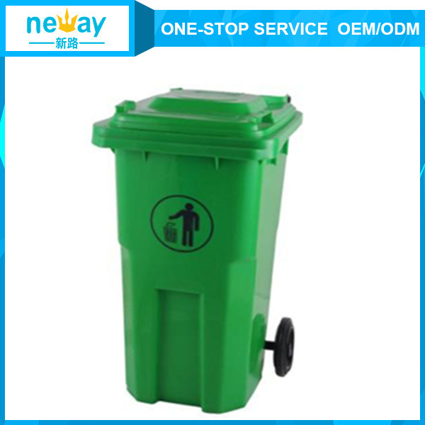 Top Quality 120L Outdoors Dustbin with Wheel