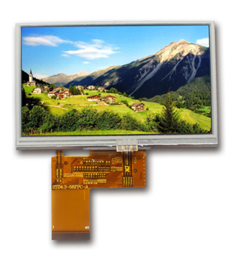 TFT 4.3`` 480*272 LCD Display Module with Touch Panel