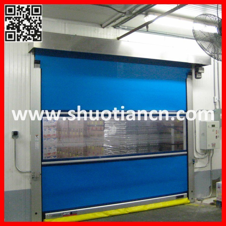 PVC Roll up High Speed Industrial Shutter Door (ST-001)