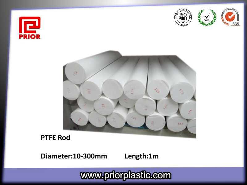 Pure PTFE Plastic Insulation Material Teflon Rod