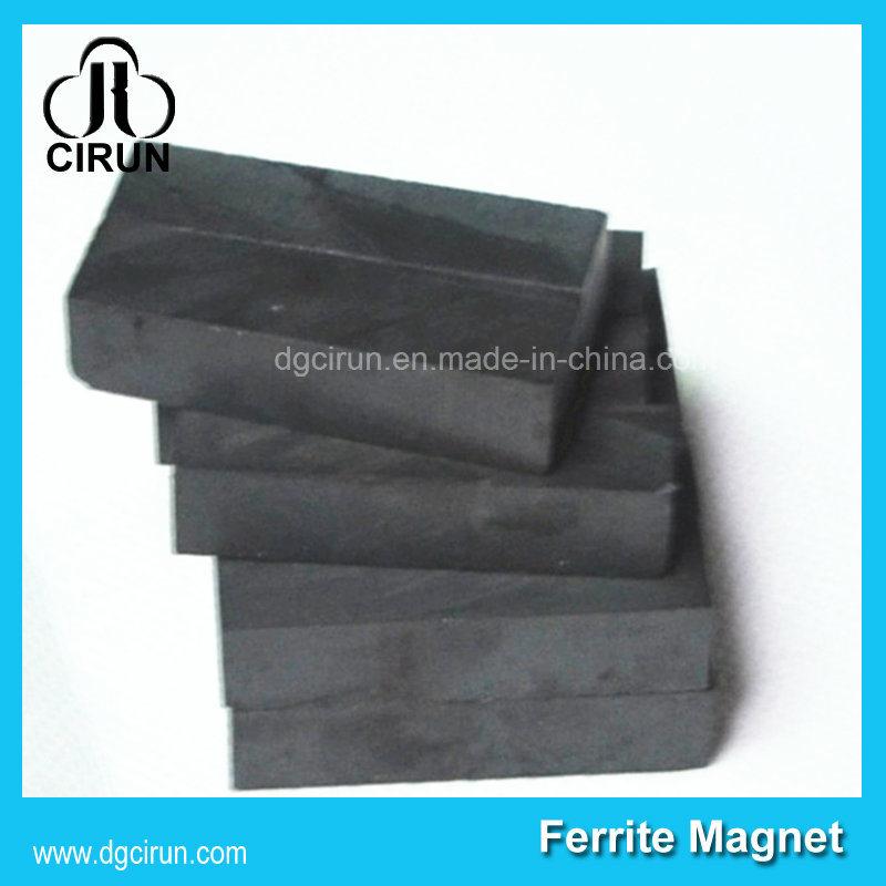 Industrial Use Black Hard Large Block Bar Ferrite Magnet