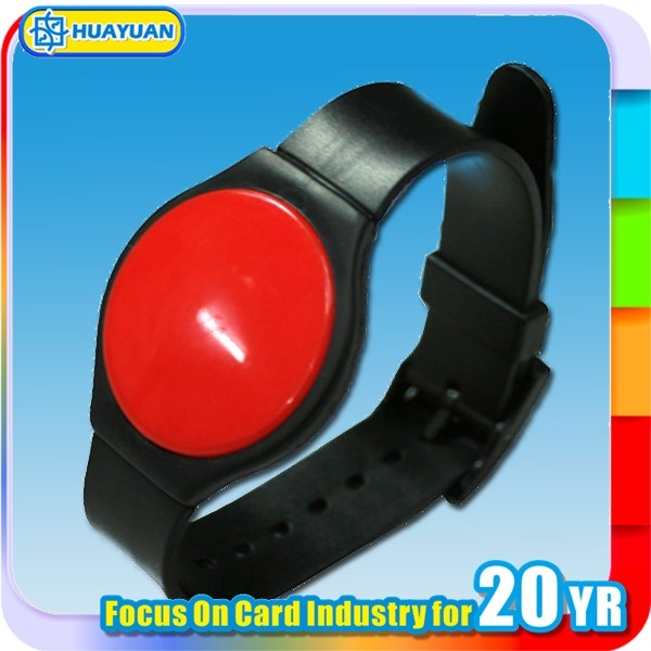 Multicolor 125kHz Tk4100 EM4200 RFID Plastic wristbands