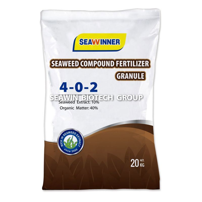 China NPK Organic Fertilizer (Seaweed Organic Fertilizer Granule)