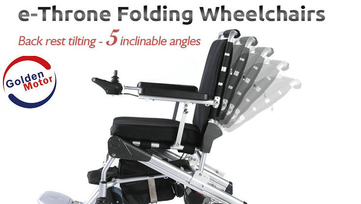 Electric Wheelchair, Light, Foldable, Portable!