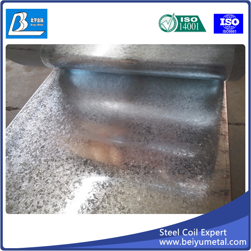 Cold Rolled Gi Steel Coil with Big Spangles