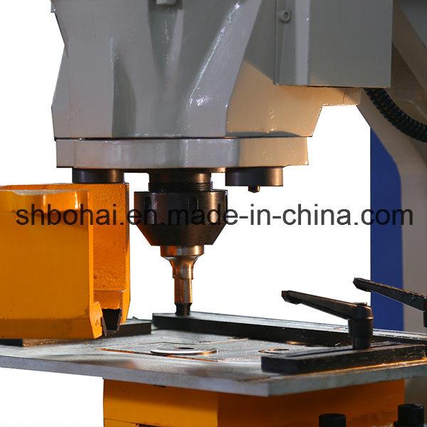 Q35y-20 (90T) Hydraulic Iron Worker, Multi Functional Hydraulic Ironworker