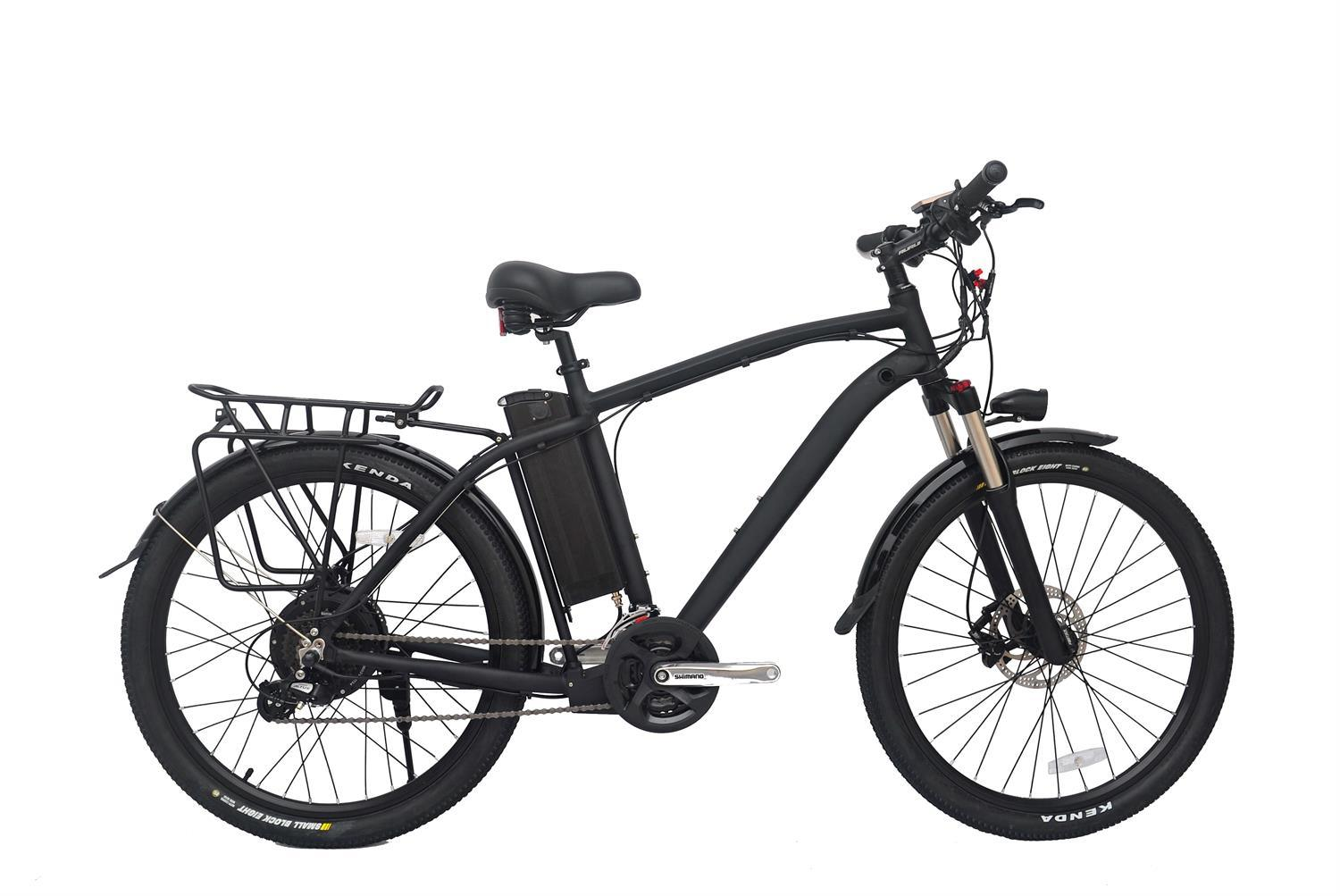 Most Pupolar Black 500W/48V Black City E-Bike
