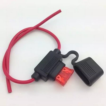 Waterproof Car 10/15/20/30A AMP in Line Blade Fuse Holder