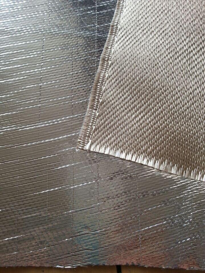 Coating Aluminum Foil Fiberglass Cloth as Pipe Insulation