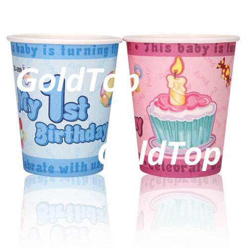 Drinking Paper Cups Disposable Tableware S11607