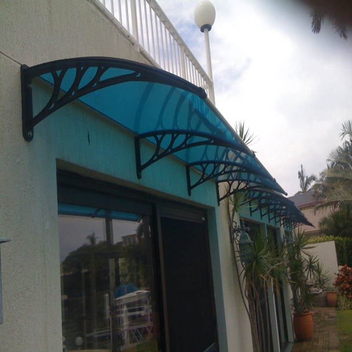 PC Polycarbonate Awning Canopy for Front/Back Door Awning