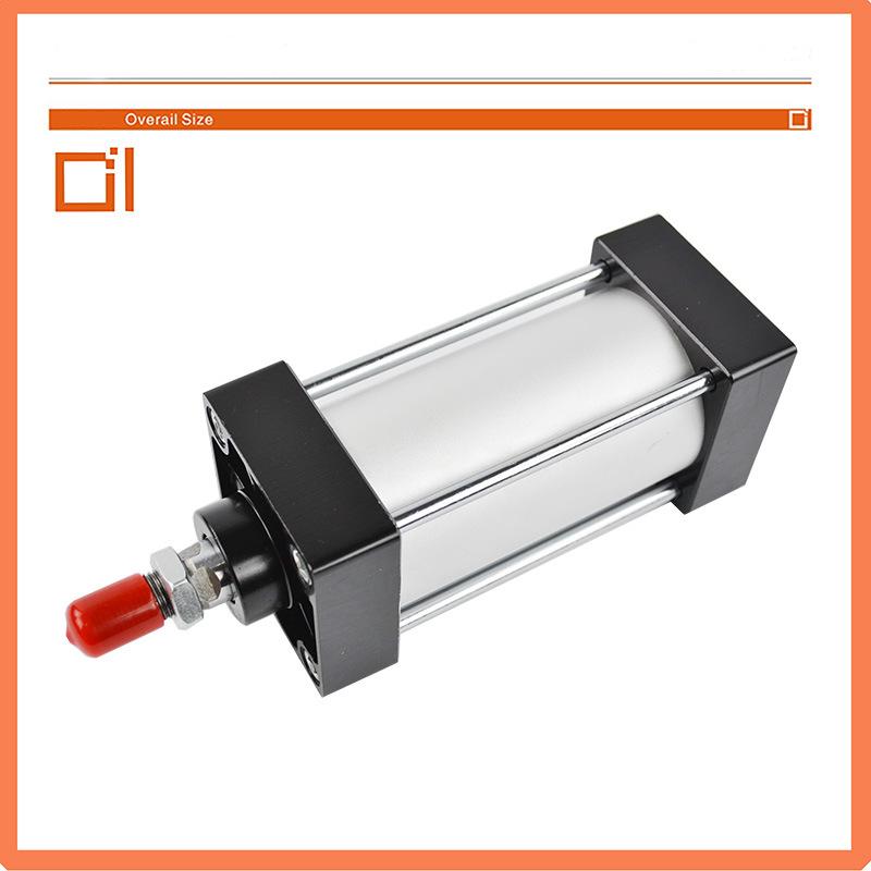 Sc Tie-Rod Pneumatic Air Cylinder, Linear Actuator Cylinder