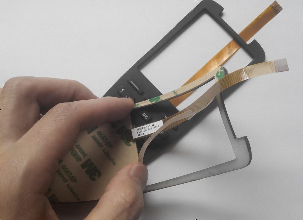 Custom High Quality Lgf Backlighting Rubber Keypad Membrane Switch