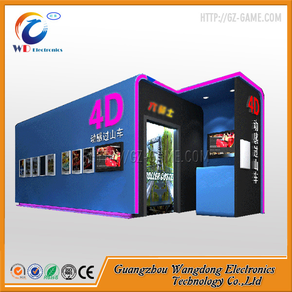 Oversea Hot Amusment Investment 4D/5D/6D Cinema System Movie