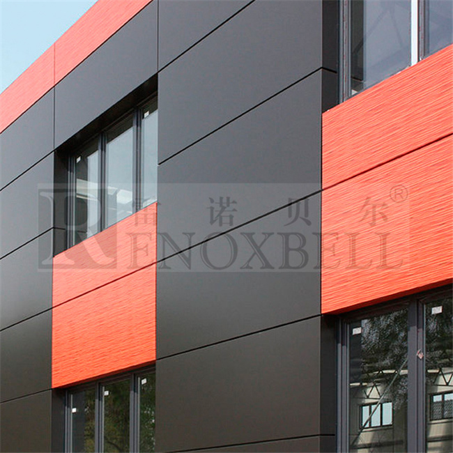 China rockwool insulated aluminum wall panels for exterior for Exterior wall construction materials