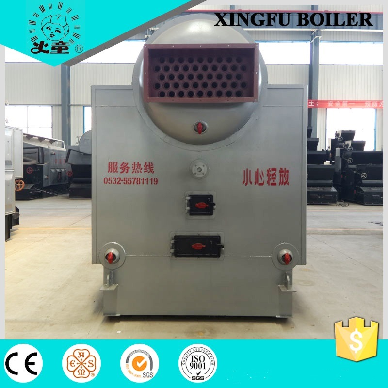 Horizontal Single Drum Chain Grate Fire Tube Coal Fired Steam Boiler with ISO9001 Ce ASME