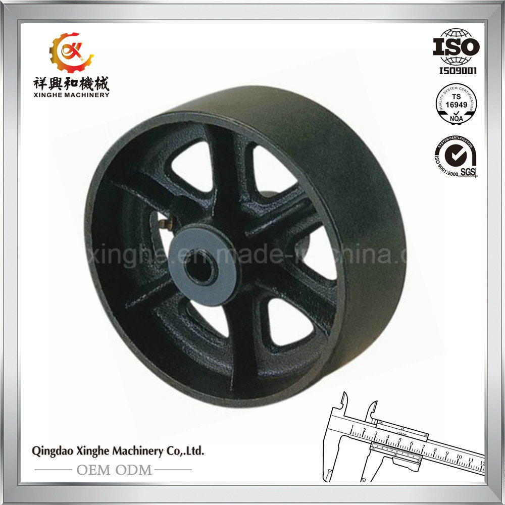 ISO Pulley Iron Sand Casting OEM Pulley