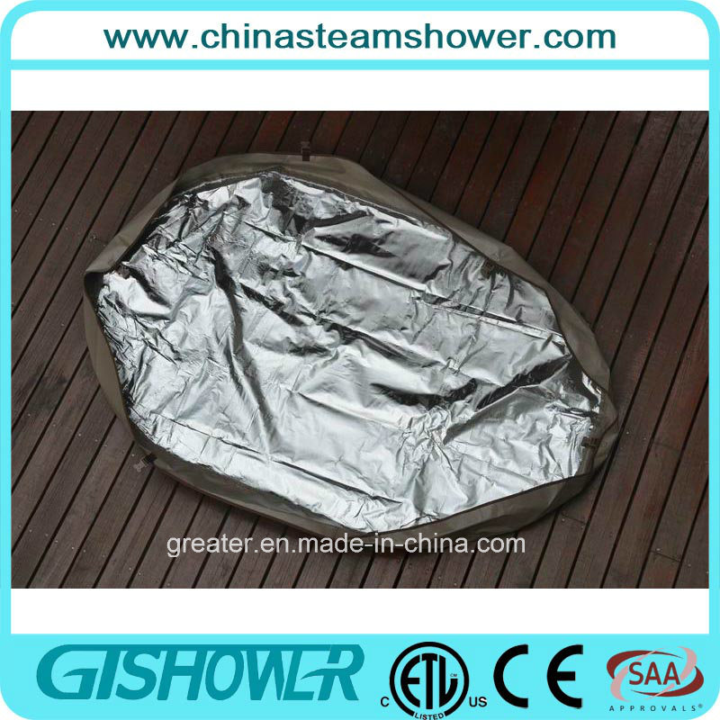 2 Person Inflatable Outdoor Jacuzzi Hot SPA (pH050012 Coffee)