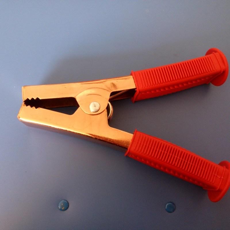 500A Half PVC Boot Copper Alligator Clip (AL-023)