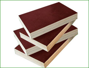 Red Film Faced Plywood or Marine Wood