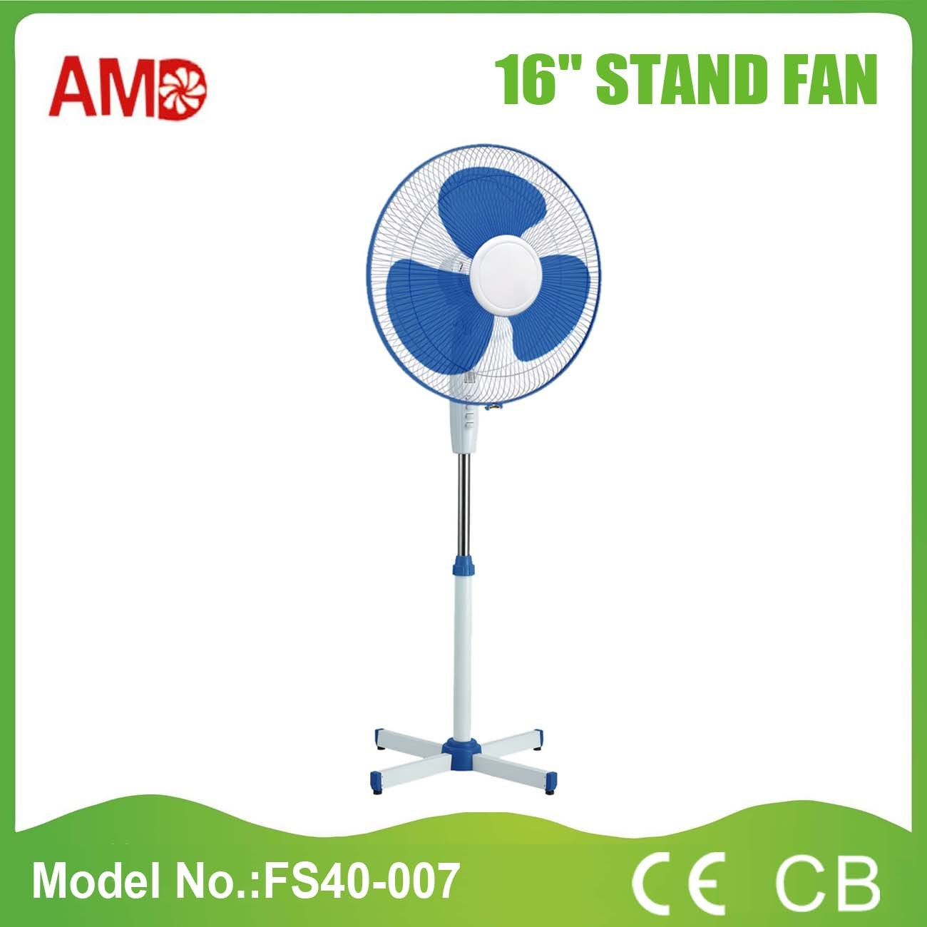 The Cheapest Hot-Sale Stand Fan with Light (FS40-007)