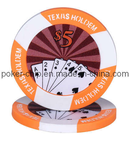 11.5g Texas Holdem Sticker Chip (SY-D16)