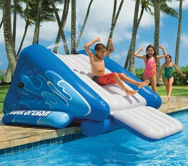 China Swimming Pool Water Slide Inflatable Water Slides Photos Pictures Made In