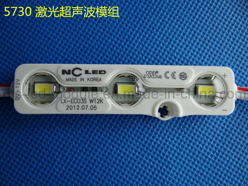 3LED/PC SMD5730 LED Module with Injection Waterproof