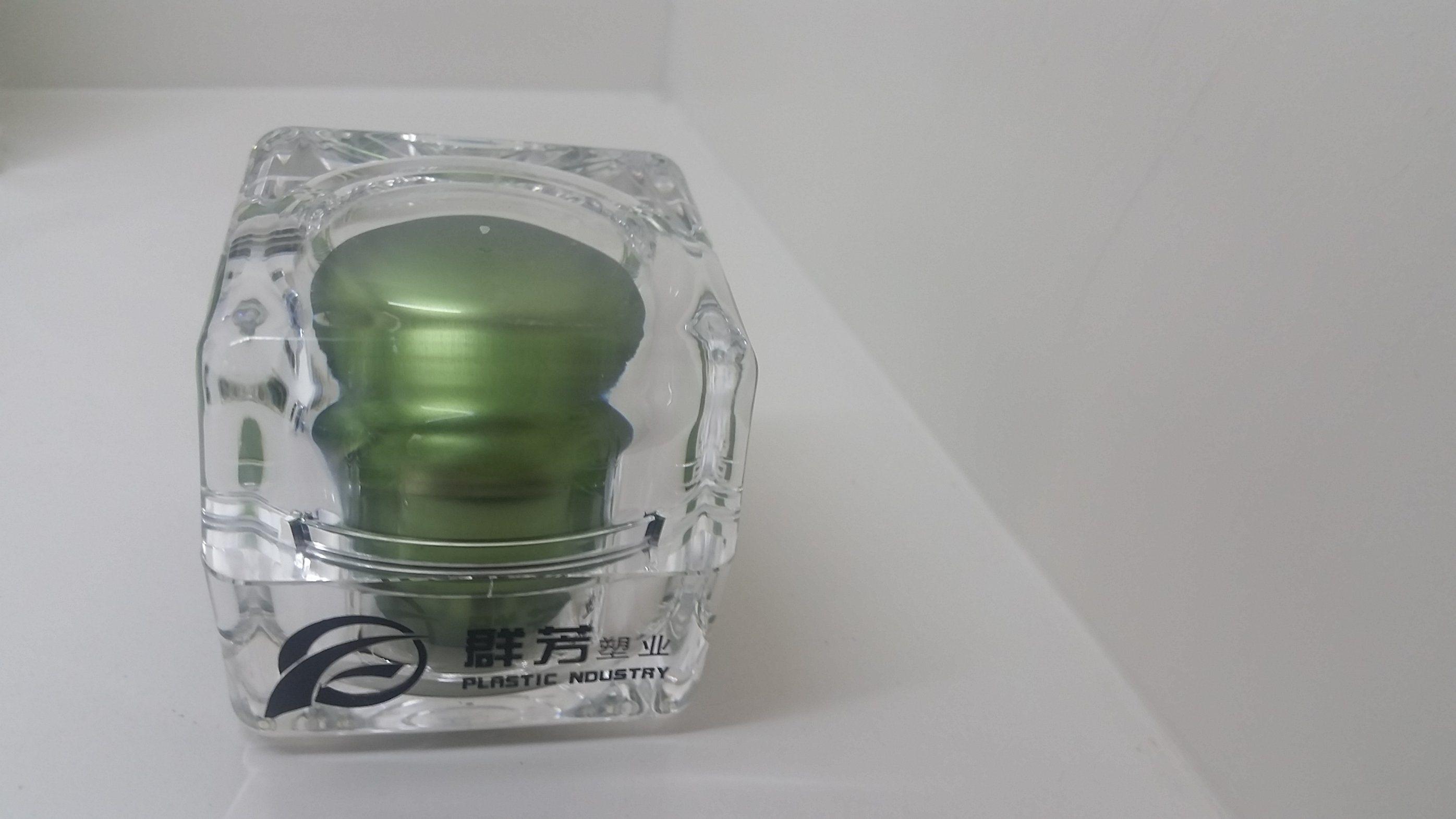 Qf-A3950 Plastic Glass Square Bottle