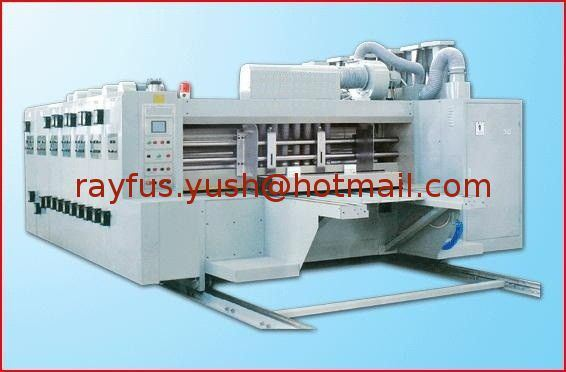 Semi-Auto Flexo Printing Slotting Die-Cutting Machine