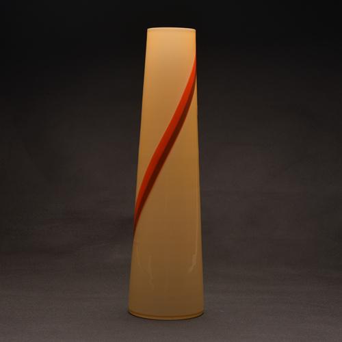 Handblown Natural Color Line Lighting Glass