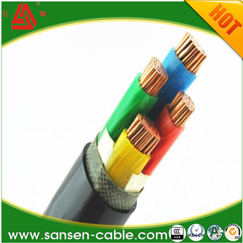 Power Cable Wire Yjv 3*70mm2 XLPE Insulation PVC Sheath Copper Power Cable