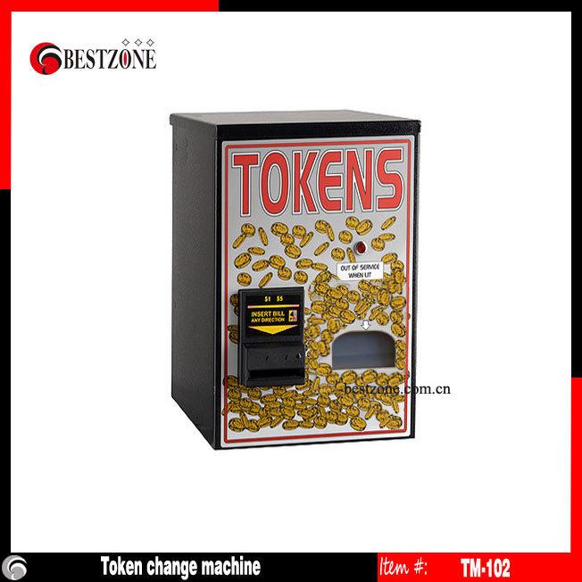 Coin or Token Change Machine