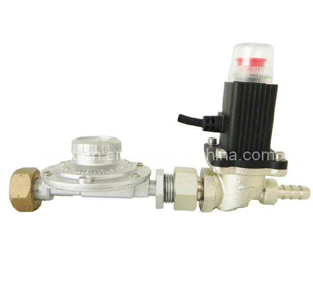 Gas Shut-off Valve and Gas Leakage Alarm