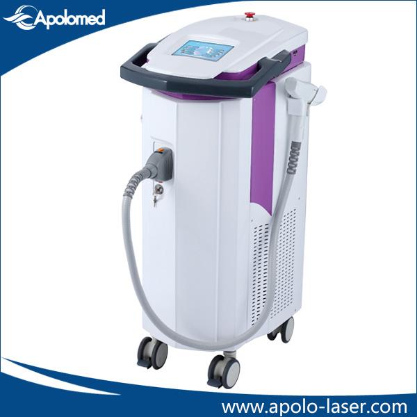 Multi Function (8 in 1) 2940nm Laser 1540nm Laser IPL RF Laser Hair Removal Platform