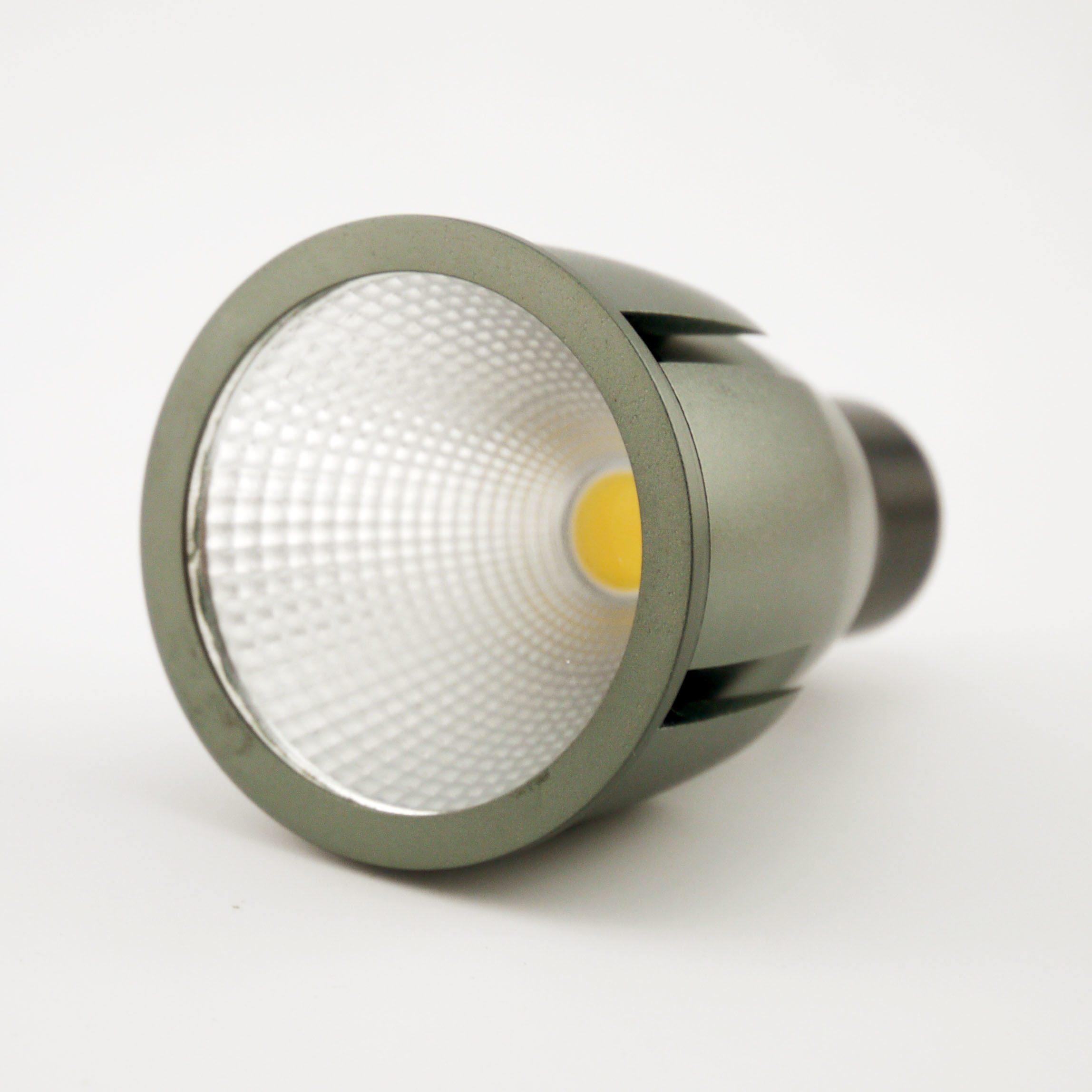 Aluminum 4W COB LED Recessed Downlight GU10 Bulb