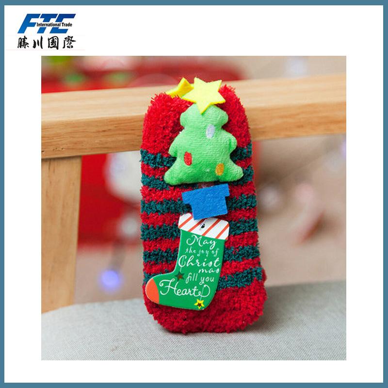 Fleece Christmas Socks/Stocking for Children