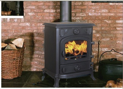 Cast Iron Wood Burning Stoves (AM07B-6KW)