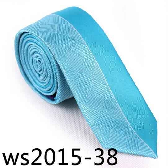 New Design Fashionable Slim Necktie (Ws2015-38)