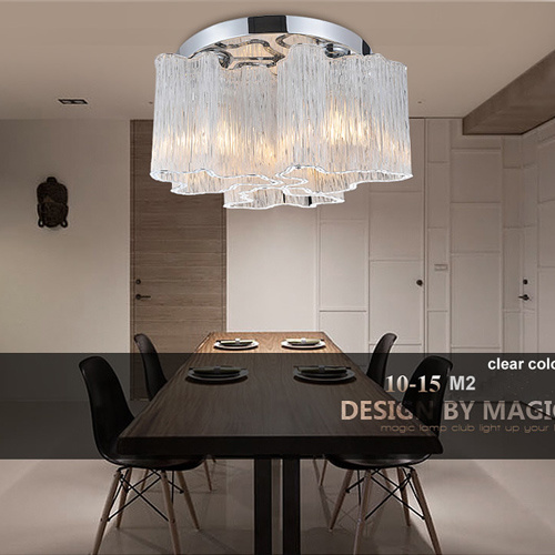 3 Lights Modern Crystal Ceiling Lighting Lamp in CE