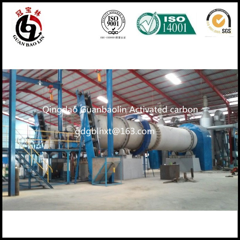 Guanbaolin Group Steam Activation Activated Carbon Factory