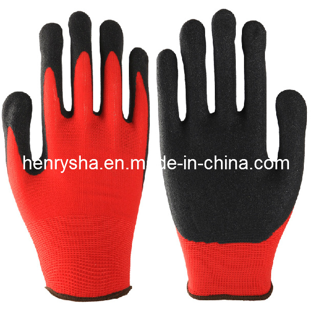 Sandy Foam Finish Nitrile Glove (ST2050) (CE Certificated)