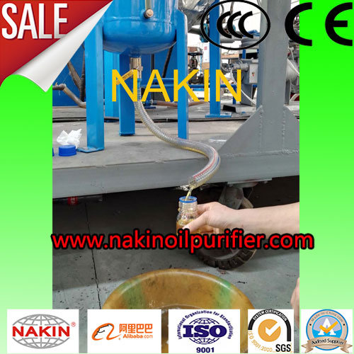 Waste Lubricants Oil Recycling Machine/Oil Regeneration Refining Machine