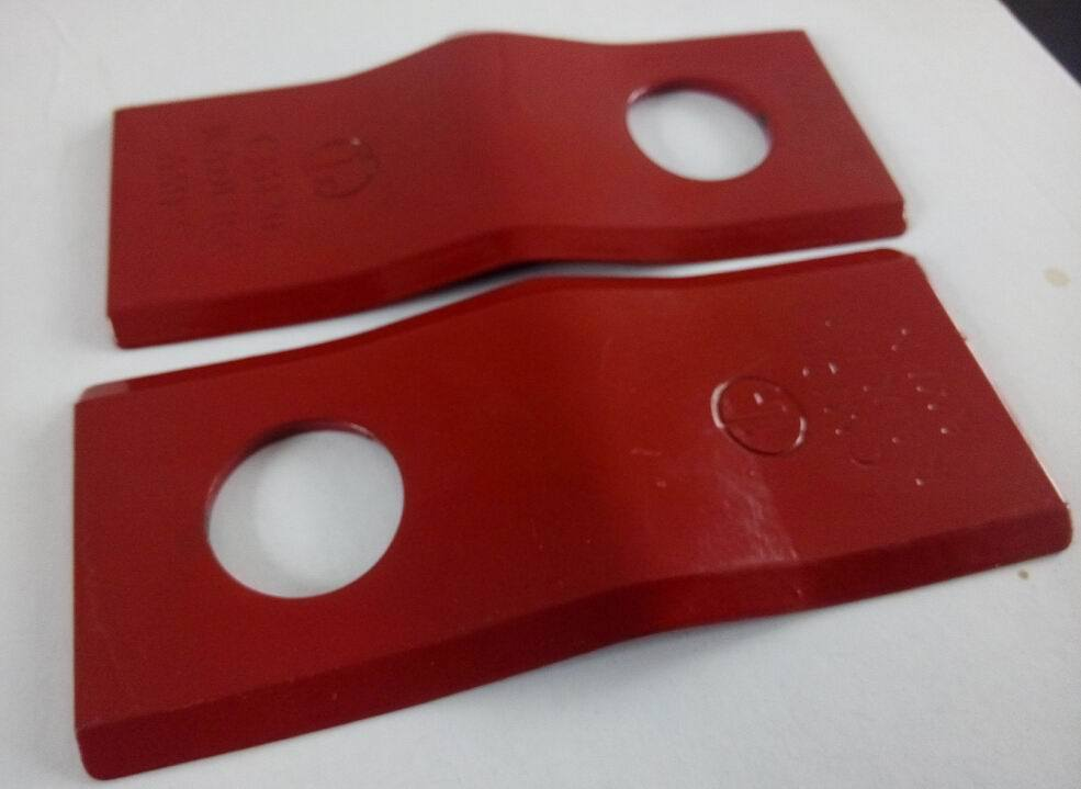 Used on Mower Parts Material T10 Made in China Mower Blade