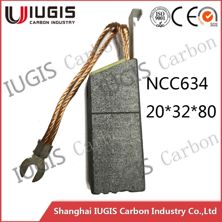 Carbon Brush for Power Plant Use Ncc634 Factory Price