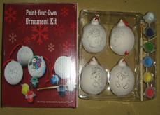 DIY Painting Balls for Kids Christmas Gifts